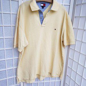 Tommy Hilfiger Men's Polo Shirt Size L (T6)